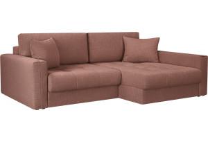 Модульный диван Брайтон вариант №2 розовый (Рогожка)