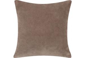 Декоративная подушка Брюссель коричневый (Вельвет)
