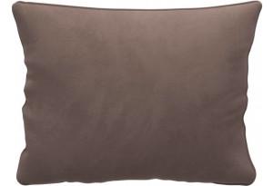 Декоративная подушка Портленд 60х48 см темно-бежевый (Велюр)