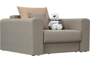 Кресло тканевое Медисон Вариант №2 80 см серый (Рогожка)
