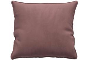 Декоративная подушка Портленд 41х41 см розово-серый (Велюр)