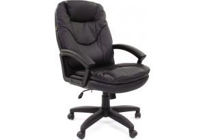 Кресло для руководителя Chairman 668 LT вариант №2 (черный)