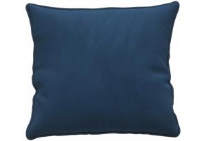 Декоративная подушка Портленд 41х41 см тёмно-синий (Вел-флок)