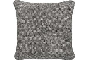 Декоративная подушка Амстердам серый (Рогожка)