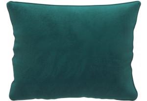 Декоративная подушка Портленд 60х48 см вариант №1 изумрудный (Микровелюр)