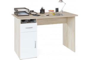 Письменный стол Сноу (дуб сонома/белый)