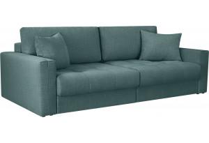 Модульный диван Брайтон вариант №1 голубой (Рогожка)
