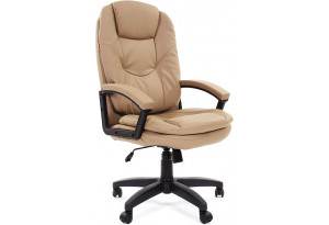 Кресло для руководителя Chairman 668 LT вариант №2 (бежевый)