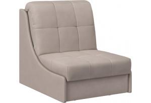 Кресло тканевое Токио серо-коричневый (Велюр)