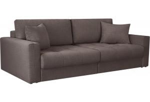Модульный диван Брайтон вариант №1 графитовый (Рогожка)