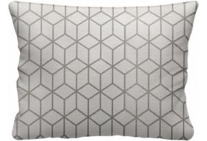 Декоративная подушка Портленд 60х48 см вариант №2 бежевый (Жаккард)