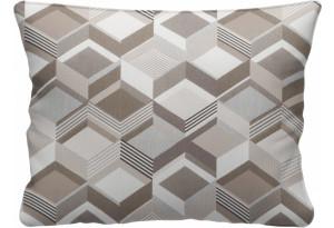 Декоративная подушка Портленд 60х48 см вариант №1 бежевый (Жаккард)