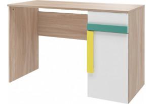 Письменный стол Акварель (ясень песочный/белый)
