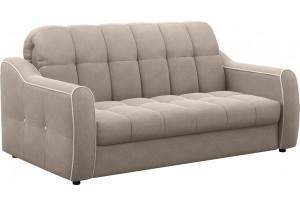 Диван тканевый прямой Флэтфорд-2 140 см серый (Рогожка)