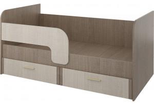 Кровать односпальная 160х80 см Санди (крослайн карамель/латте)