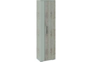 Шкаф распашной однодверный Нуар (дуб бонифацио/бежевый)