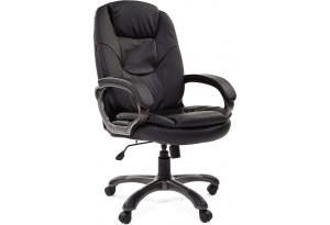 Кресло для руководителя Chairman 668 вариант №1 (черный)