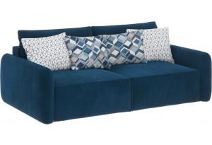 Модульный диван Портленд вариант №7 светло-синий (Микровелюр)