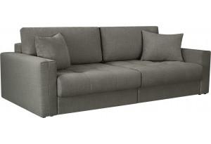 Модульный диван Брайтон вариант №1 серый (Рогожка)
