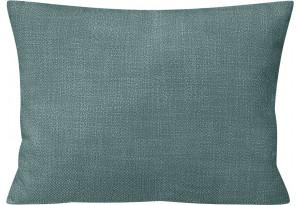 Декоративная подушка Портленд 60х48 см голубой (Рогожка)