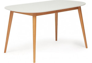 Стол обеденный Max белый / натуральный