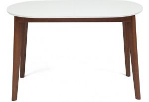 Стол обеденный Bosco белый / коричневый