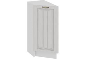 Шкаф напольный торцевой с одной дверью «Лина» (Белый/Белый)