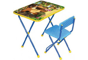 Комплект детской мебели Позвони мне: Маша и Медведь