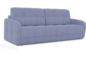 Диван «Аспен Slim» (Poseidon Blue Graphite (иск.замша) серо-фиолетовый)