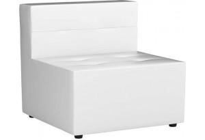 Модульный диван Домино Белый (Экокожа)