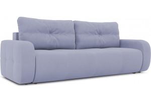 Диван «Томас» (Poseidon Blue Graphite (иск.замша) серо-фиолетовый)