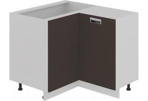 Шкаф напольный нестандартный угловой с углом 90° БЬЮТИ (Грэй)