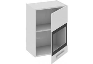 Шкаф навесной со стеклом (правый) Фэнтези (Белый универс)