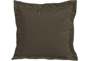 Подушка малая П2 Beauty 04 (велюр) коричневый