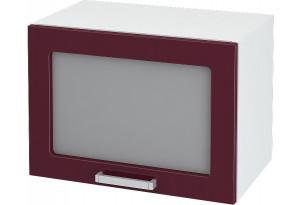 Ксения Навесной шкаф (Газовка) 500 мм с дверцей и стеклом