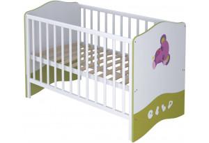 Кроватка-трансформер детская Polini kids Basic 140 х 70
