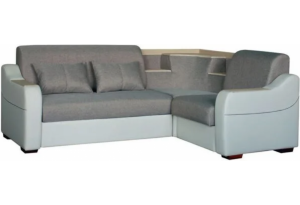 Угловой диван-кровать Турин светлый