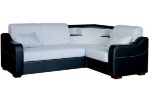 Угловой диван-кровать Турин темный