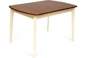 Стол Roberto (mod. EHR3248R+12 H4) дуб / крем