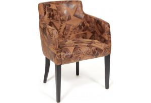Кресло Knez коричневый (mega office 34)