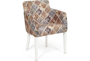 Кресло Knez бежево-серый (mega-office 20)