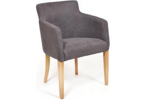 Кресло Knez серый (панда 37)