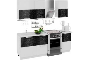 Кухонный гарнитур длиной - 210 см Фэнтези (Лайнс)