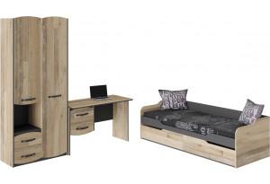 Набор детской мебели «Кристофер» стандартный Фон Серый/Олд Стайл