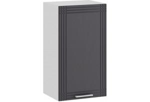 Шкаф навесной c одной дверью «Ольга» (Белый/Графит)