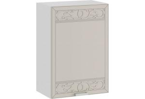 Шкаф навесной c одной дверью «Долорес» (Белый/Крем)