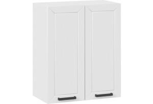 Шкаф навесной c двумя дверями «Лорас» (Белый/Холст белый)