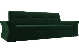 Прямой диван Клайд Зеленый (Велюр)