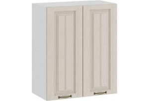 Шкаф навесной c двумя дверями «Лина» (Белый/Крем)