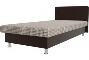 Кровать Мальта бежевый/коричневый (Корфу)